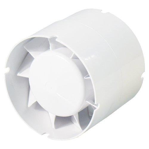 soufflerie avec clapet de fermeture cuisine WC Ventilateur dextraction dair fen/être Uzman-Versand 250mm Ventilateur mural de bain