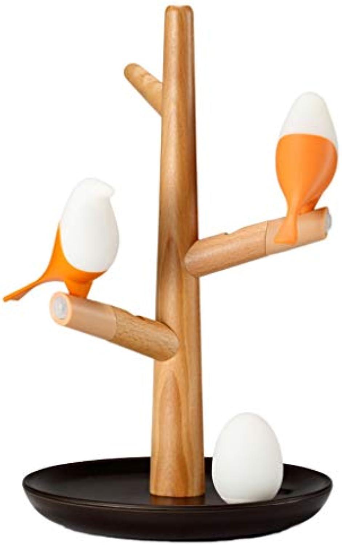 LIN HE SHOP Solide Tree Branch Tischleuchte mit magnetischer Absaugung, umgebende Nachtlampe, mit USB-Lade-Human-Sensing (Farbe   Gelb)