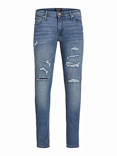 Jack & Jones Jjiliam Jjoriginal Am 602 50sps Noos Jeans, Azul Denim, 28W x 32L para Hombre
