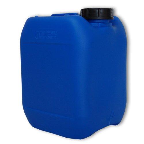 Bidon – Jerrican 5 L Bleu HDPE ouverture DIN 51 qualité alimentaire (22040)