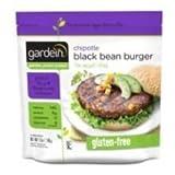 Gardein Meatless Chipotle Black Bean Burger, 12 Ounce -- 8 per case. by Gardein