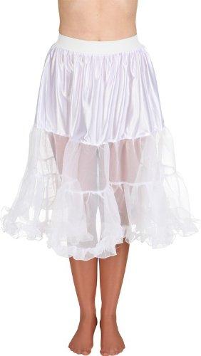 Petticoat weiß midi, Größe:40-42