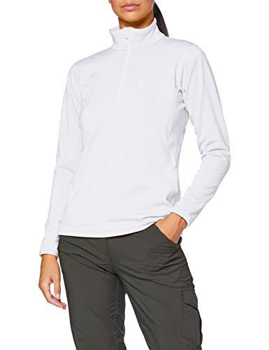 MILLET - Seneca Tecno W - Sportliche Fleecejacke für Damen- Wandern, Trekking, Lifestyle - Weiß