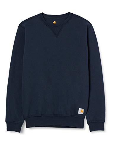Carhartt Herren Midweight Crewneck Sweatshirt, New Navy, L