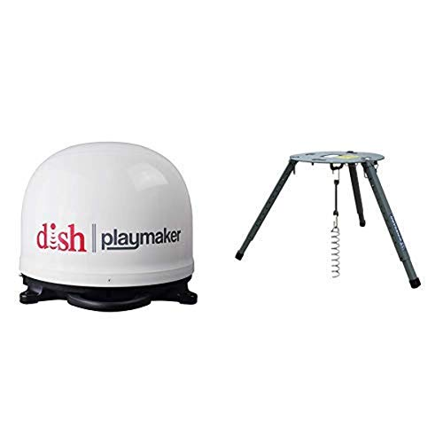 Winegard PL7000 Dish Playmaker Portable Antenna with Portable Tripod Mount