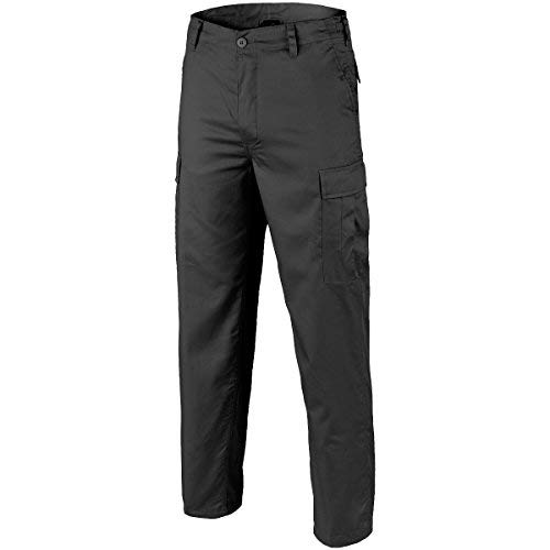 Brandit Rangerhose, Pantalon Cargo, Pantalons de Travail, Securityhose - Noir, XL