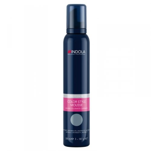 Indola Profession Color Style Mouse - Anthracite - 200ml by Styling Colour Mousse