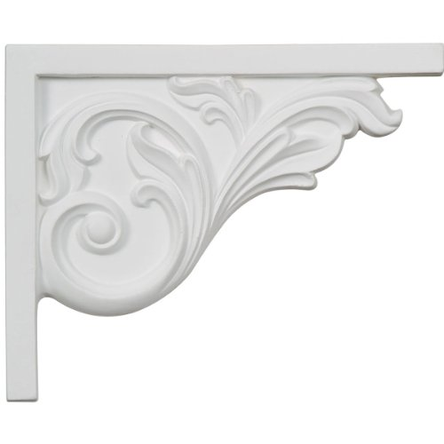 Ekena Millwork SB08X05BR-R Bremen Acanthus Stair Bracket, Right, 8 3/4