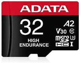ADATA High Endurance 128GB UHS-I U3 V30 A2 Class 10 Micro SDXC Memory Card (AUSDX128GUI3V30SHA2-RA1)