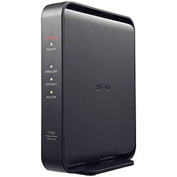 BUFFALO WiFi 無線LAN ルーター WSR-1166DHPL2/N 11ac ac1200 866+300Mbps IPv6対応 デュアルバンド 3LDK 2階建向け 簡易パッケージ テレワーク 日本メーカー 【iPhone11/iPhone11 Pro/iPhone11 ProMax メーカー動作確認済み】