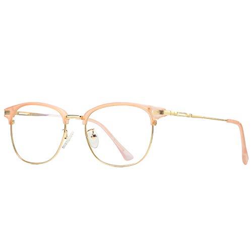 Gafas de Ordenador,Gafas de bloqueo de luz azul/Gafas de luz azul Mujer/Gafas de jugador de computadora/Gafas de pantalla anti radiación