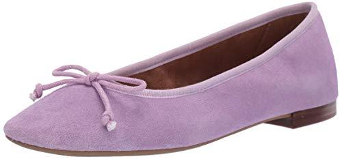 Aerosoles Women's Martha Stewart Homerun Ballet Flat, Light Purple Suede, 10