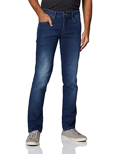 Calça Jeans Alex Colcci, Masculino, Indigo, 40