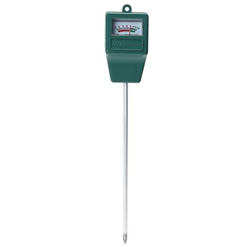 Demiawaking 3-in-1 Bodentest-Set, Boden-PH-Tester, Messgerät für Bodenfeuchtigkeit, Sonnenlichttester für Garten, Hof, Rasen, Blumen, Pflanzenpflege (keine Batterien erforderlich)