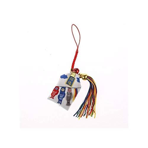 AMULETO Omamori Japonés de tela - Amuleto Protección de la Riqueza