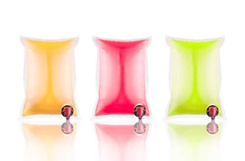 Rapak 50 Stück Bag in Box Beutel 3 Liter | BaginBox Beutel 3L zum Abfüllen von Säften UVM. | Original Saftschläuche, Saftbeutel