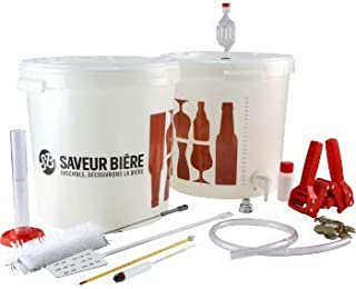 Kit de Brassage Basic - Brassez Votre bière à la Maison - Idée Cadeau - Equipement de Brassage