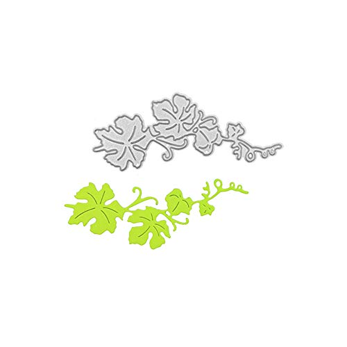 Tree Branch Metal Cutting Die, Leaves Die Cuts Stencil Cutting Template Moulds Scrabooking Supplies for Invitation Card Making, Paper Crafting, Envelope, Emboosing, DIY Photo Album
