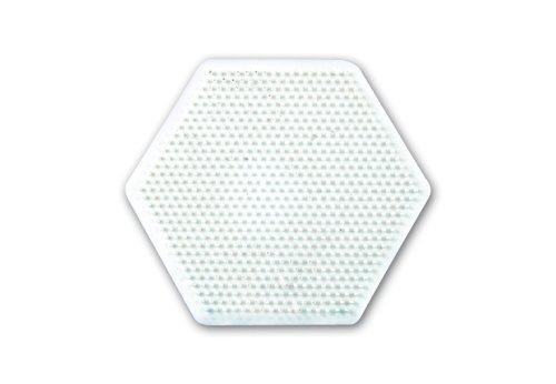 Hama 100-276 - Piastra per Perline, Esagonale, 15 cm