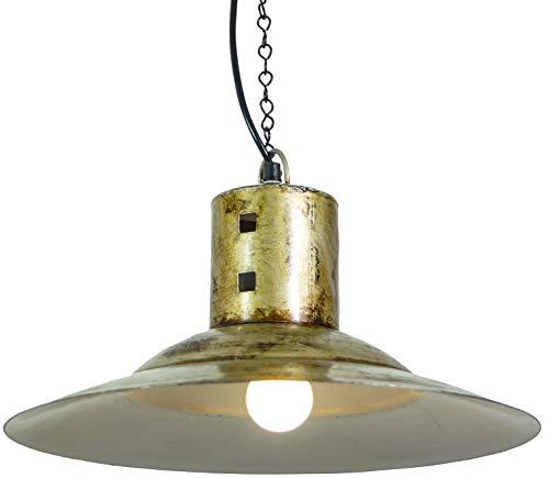 Guru-Shop Deckenleuchte/Deckenlampe Bombay, Industrial Style, Handgemacht aus Metall, 22x37x37 cm, Upcycling