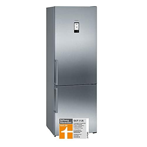 Siemens KG49NAIDP iQ500 frigorifero freezer, freezer, d/207 kWh/anno, 438 l, hyperFresh Plus, noFrost/illuminazione interna a LED/Touch Control