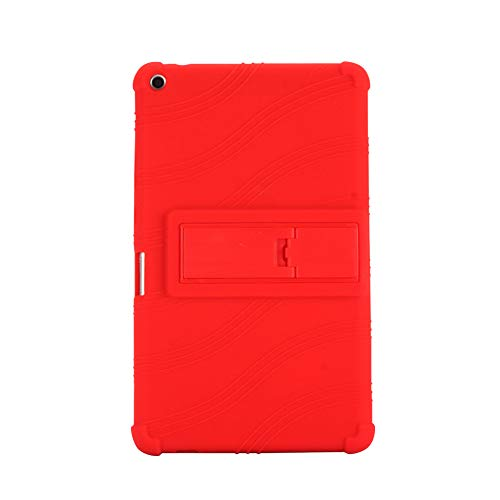 Yudesun Funda para Huawei MediaPad T3 - Soporte Silicona Suave Skin Caucho Cáscara Protector Cubrir Funda para Huawei MediaPad T3 KOB-W09/T3 KOB-L09 8