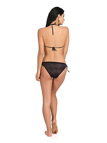 Fashion Comfortz Women'S Girls Satin Nylon Spandex Sexy Bra Sexy Panty,Non Padded Bikini Swimwear Lingerie Set,Women'S Girls Ladies Undergarments,Sexy Lingerie Beach Innerwear For Women Girls Ladies