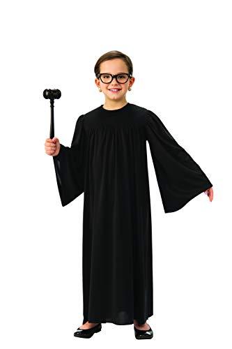 Judge Robe für Kinder | Black Supreme Court Justice Robe – Schwarz – XL