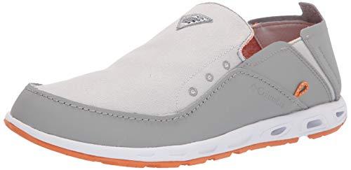 Columbia Bahama ventilación PFG Zapato para Hombre, Gris Hielo/Naranja Claro, 12 US