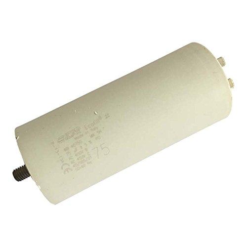 Condensateur moteur à cosse 75 µF