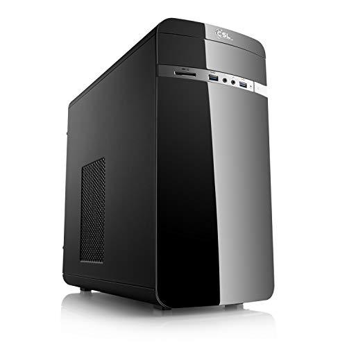 CSL Computer Aufrüst-PC 909 - AMD Ryzen 5 3350G 4X 3600 MHz, 8 GB DDR4, Radeon Vega 10 Grafik, GigLAN, 7.1 Sound, USB 3.1, ohne Betriebssystem