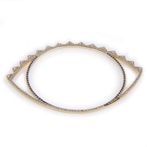 Kenzo Bracelet Oeil plaqué Or Femme Or
