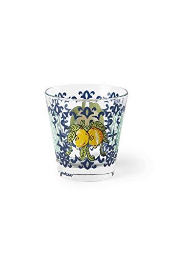 Excelsa Amalfi Set 6 Bicchieri Acqua, Vetro Soffiato