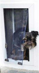 Security Boss MaxSeal Pet Door Door Mounted - Small/Medium (7 x 9) Dual Flap