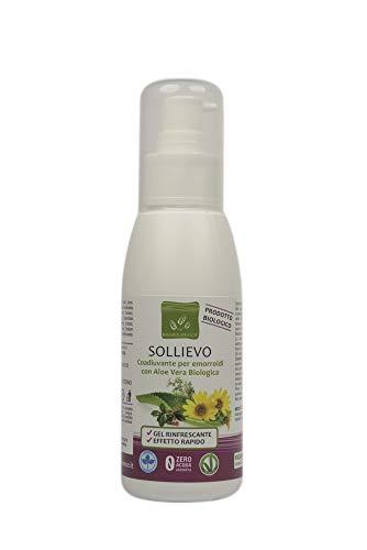 Benessence - Sollievo Gel Coadiuvante per Emorroidi con Aloe Vera Biologica da 100 ml
