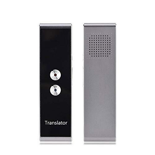 T8 Pocket Voice Language Translator 30 Languages Two Way Tiempo Real Intercom Portable Traductor para el Aprendizaje Personal Viajar, Liqingshangmao