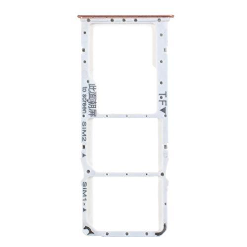Bandeja de tarjeta SIM doble con ranura para tarjeta micro SD reemplazo para Huawei Y9 2018 plata disfrutar 8 Plus FLA-AL10 FLA-AL00 FLA-LX1 FLA-LX2