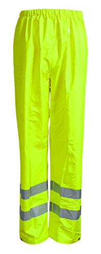Elka 022403R040002 Dry Zone - Pantalones de Trabajo, Color Amarillo Fluorescente, XS