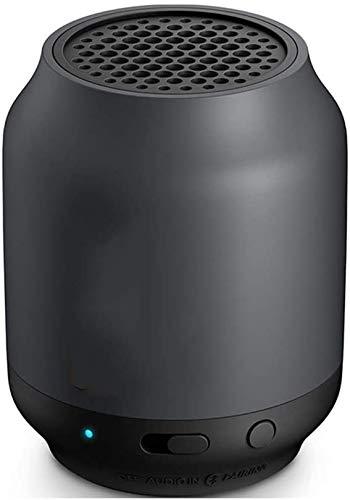 Mopoq Drahtlose Bluetooth-Lautsprecher-bewegliche Mini Q'Q'Lautsprecher Kompatibel mit Apple/Android Telefon/Computer Mini-Lautsprecher Lautsprechern (Color : Schwarz)
