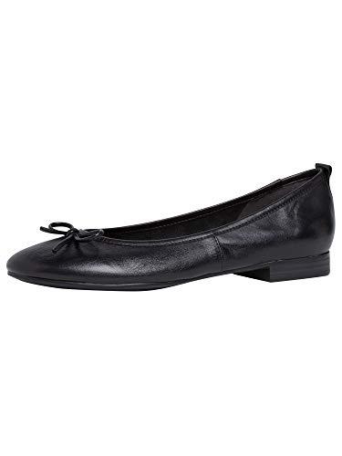 Tamaris Damen 1-1-22114-25 001 Ballerinas, schwarz, 40 EU