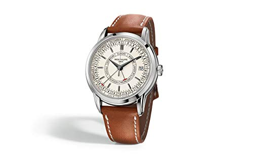Patek Philippe Complications Steel 5212A-001 with Silvery Opaline dial