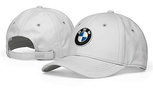BMW Original Main Collection Cotton Logo Cap mit verstellbarem Riemen, Einheitsgröße, Grau 80162454622