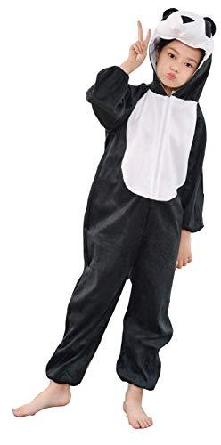 Fun Play Disfraz de Panda para niños - Disfraz de Animal para niños y niñas - Disfraces de Disfraces para niños de 5 a 7 años (122 CM)