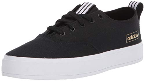 adidas Women's Broma Skate Shoe, core Black/core Black/Purple Tint, 9 M US