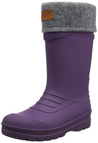 Kavat Mädchen Gimo WP Gummistiefel, Violett (Purple 945), 22 EU
