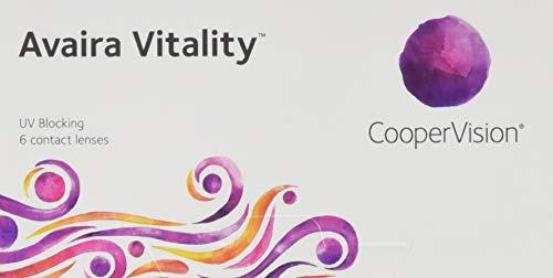 Avaira Vitality spheric, Monatslinsen weich, 6 Stück / BC 8.4 mm / DIA 14.2 mm / -3.75 Dioptrien