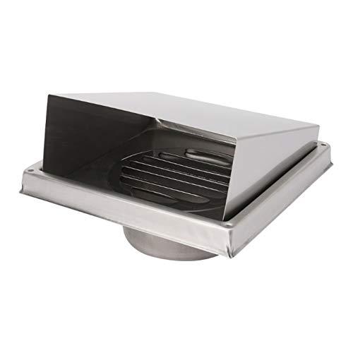 Lirr-Air Vents Aire de la Pared de la Rejilla del difusor de los conductos de ventilación de la Cubierta, Extractor de Salida lumbreras Resistente a rayones (Color : 125mm)