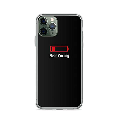 Soporte de TPU para iPhone 12/12 Pro MAX 12 Mini 11 Pro MAX SE X XS MAX XR 8 7 6 6s Plus Funda Low Battery Need CurlingCubierta de Las Cajas del teléfono Pure Clear