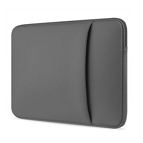 XXIUYHU 11 13 15 15.6 Laptop Tasche Hülle für MacBook Air 13 Samsung Dell Ultrabook Laptop Tasche Hülle für Xiaomi Notebook Pro 15.6 11 Zoll Grau 2
