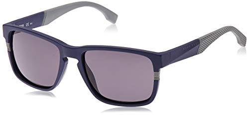 Hugo Boss heren 0916/S Ir zonnebril, blauw (Blu), 57